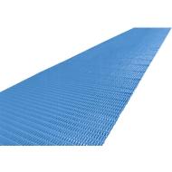 Luchtkussenmat, 10 m rol, 600 mm breed, blauw
