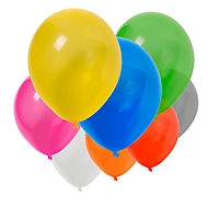 Luftballon-Set, 100-tlg, Bunt, Standard