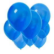Luftballon-Set, 250-tlg,inkl. Druck, Blau, Standard, Auswahl Werbeanbringung erforderlich