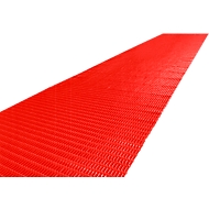Luftpolstermatte, 10 m Rolle, 1000 mm breit, rot