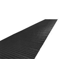 Luftpolstermatte, Zuschnitt, 1000 mm breit, schwarz