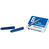 M&M Tintenpatrone, königsblau, 6 Stück