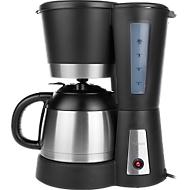 Machine à café avec bouteille isotherme en inox, capacité 1l