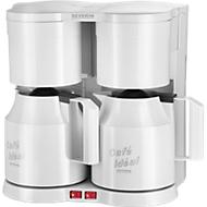 Machine à café duo, blanc