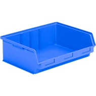 Magazijnbak met zichtopening LF 351 ZW blauw