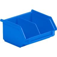 Magazijnbak SSI Schäfer LF 110M, polypropeen, L 92 x B 100 x H 50 mm, 0,26 l, blauw