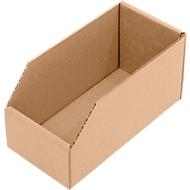 Magazijnbak van karton, L 200 x B 100 x H 100 mm, 50 stuks
