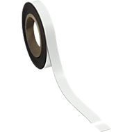 Magneetband, wit, 20 x 10.000 mm