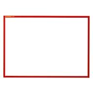 Magneetlijst SSI standaard, A3 liggend formaat, rood, 5 stuks