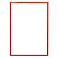 Magneetlijst SSI standaard, A3 verticaal, rood, 5 stuks
