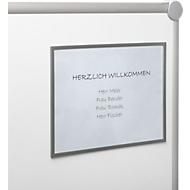 Magneetlijst, voor A4-formaten, 10 stuks, grijs