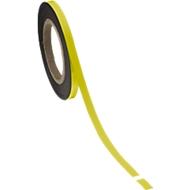 Magnetband, gelb, 10 x 10000 mm