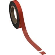 Magnetband, hellrot, 20 x 10000 mm