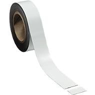 Magnetband, weiß, 40 x 10000 mm