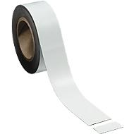 Magnetband, weiß, 50 x 10000 mm