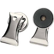 Magneten met documentenklem, 2 stuks