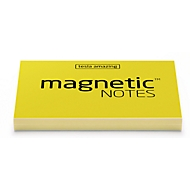 Magnetic Notes S 70x50 mm yellow 100 Bl.