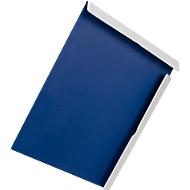 Magnetische klembord Attraction Biella, A4, staand en liggend formaat, met 4 magneten en verzonken handgreep, blauw