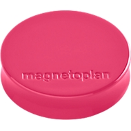 magnetoplan® Ergo magneten MEDIUM, Ø 30 x 8 mm, pak van 10 stuks, pink