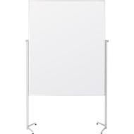 Magnetoplan Moderationstafel, fahrbar, höhenverstellbar, weiß