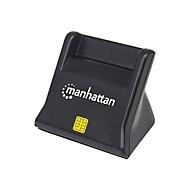 Manhattan Standing USB Smart/SIM Card Reader - SmartCard-Leser - USB 2.0