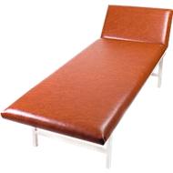 Massage- und Untersuchungsliege, 2000 x 700 x 650 mm, rot
