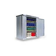 Materiaalcontainer mod. 1020, verzinkt, gemonteerd