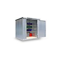 Materiaalcontainer mod. 1220, verzinkt, gemonteerd