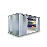 Materiaalcontainer mod. 1420, verzinkt, ongemonteerd
