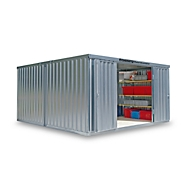 Materiaalcontainer Mod. 1440, verzinkt, ongem., zonder vloer