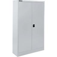 Materiaalkast SSI Schäfer MSI 16408 , B 800 x D 400 x H 1535 mm, 3 legplanken, staal, wit aluminium RAL 9006