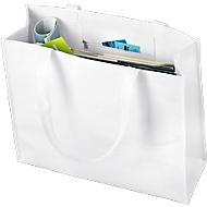 Materialmix-Tasche Combi, weiß