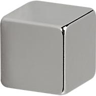 MAUL Aimants en néodyme, carré, 10 x 10 x 10 mm, 4 pièces