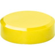 MAUL Aimants pour whiteboard 2000, Ø 30 x H 10,5 mm, jaune, 20 pièces