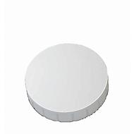 MAUL Aimants SOLID, Ø 32 x 8,5 mm, blanc, 10 pièces