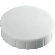 MAUL Aimants solide, Ø 20 x 7,5 mm, blanc, 10 pièces