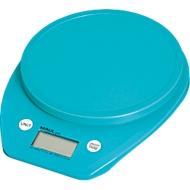 MAUL brievenweegschaal MAULgoal, digitaal, werkt op batterijen, Weegbereik 5000 g, lichtblauw