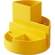 MAUL bureau organizer, geel
