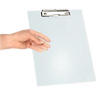 MAUL klembord, A4, kunststof, met ophangoog, transparant