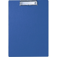MAUL Klemmbrett, DIN A4, Karton/Polypropylen, mit Aufhängeöse, blau
