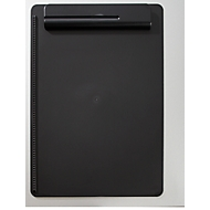 MAUL Klemmbrett, DIN A4, Kunststoff, mit Stifthalterung, schwarz