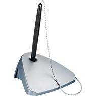 Maul Kugelschreiberständer Modern, Länge 40 cm, modernes Design, silber