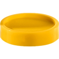 MAUL magneten,  Ø 34 mm, 10 stuks, geel