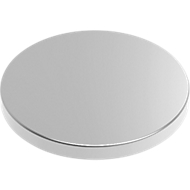 MAUL Neodym magneet schijf/cilinder Ø 10 mm x 1 schijf, 10 stuks