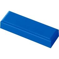 MAUL rechthoekmagneten, 53 x 18 x 10 mm, 20 stuks, blauw