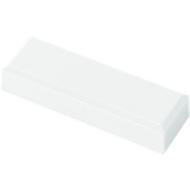 MAUL rechthoekmagneten, 53 x 18 x 10 mm, 20 stuks, wit