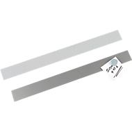 MAUL Selbstklebende Magnet-Wandleiste, grau