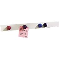 MAUL Selbstklebende Magnet-Wandleiste, weiß
