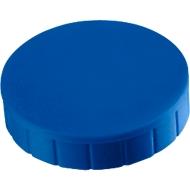 MAUL Solidmagnete, ø 38 x 15,5 mm, 10 Stück, blau