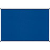 MAUL standard prikbord, textiel, 600 x 900 mm, blauw